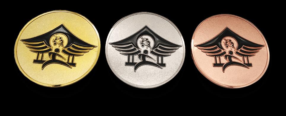Calgary Karate Cup Medals